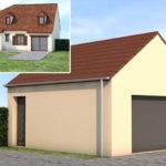 plan 3d extension garage renovation 45110