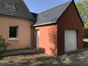 realisation extension garage 44500