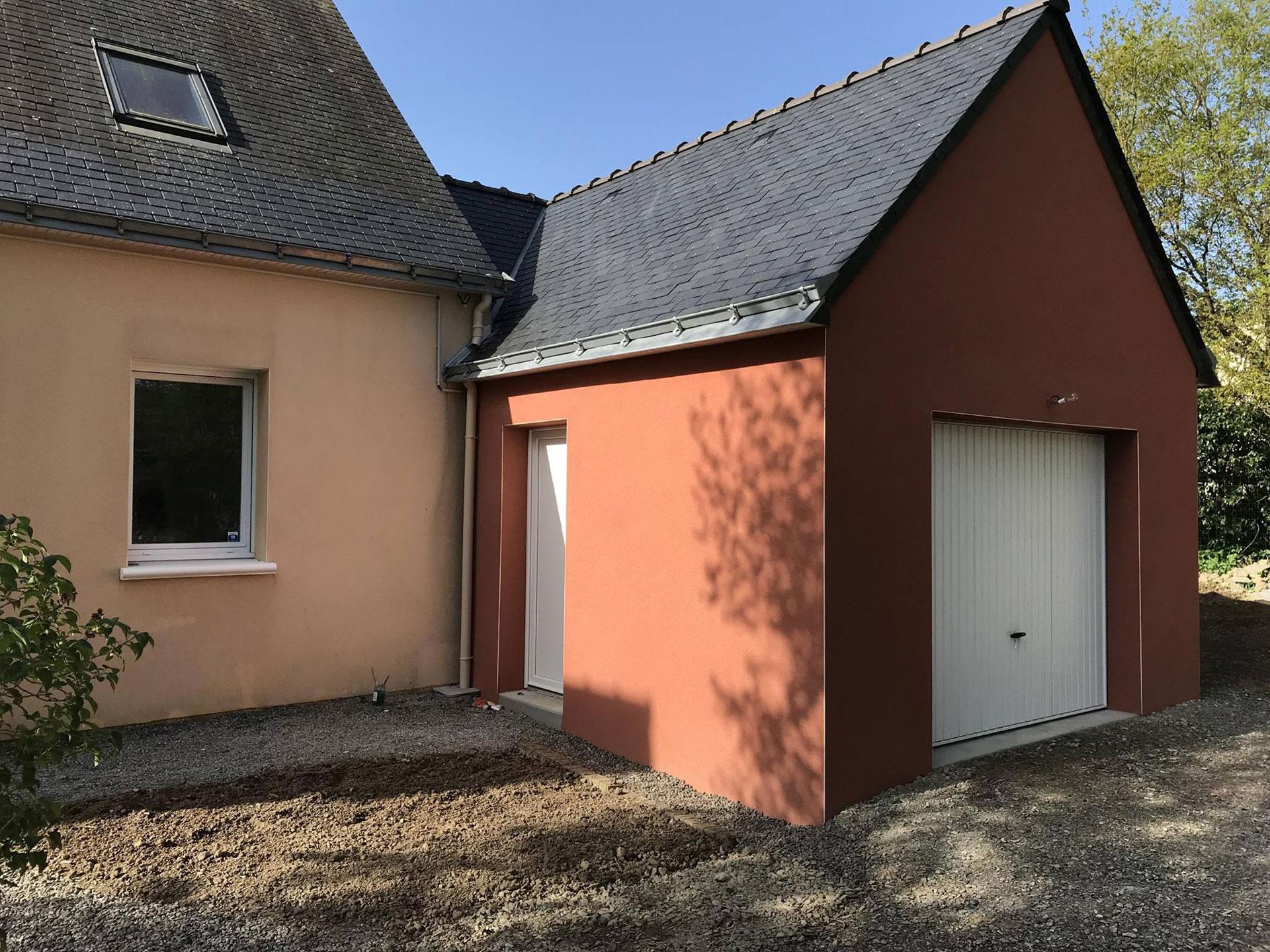 realisation extension garage 44500