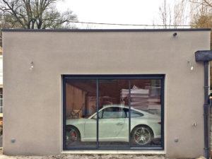 extension garage terrasse 45700
