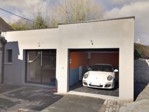 extension suite parentale et garage 45700