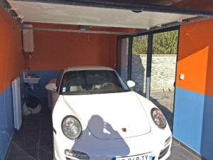 extension garage porsche 45700
