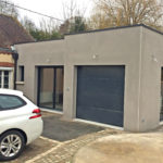 rrealsiation extension maison et garage 45700