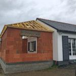 maçonnerie briques extension maison 35230