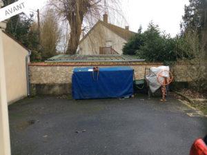 projet extension maison garage 45700