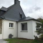 extension maison traditionnelle Kervignac Morbihan
