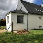 extension maison Kervignac Morbihan