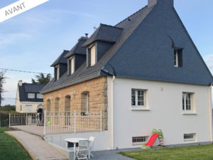 projet extension maison Kervignac Morbihan