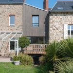 Extension maison ossature bois Saint-Malo 35400