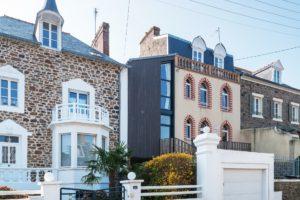 Extension maison ossature bois Saint-Malo 35400