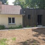 Extension bois toit plat Bouzy la forêt 45460