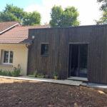 Extension maison ossature bois Bouzy la forêt 45460