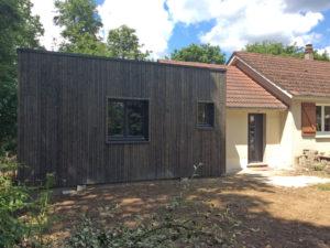 Extension ossature bois Bouzy la forêt 45460