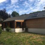 Extension maison suite parentale 35580