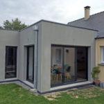 extension maison toit plat saint nazaire 44260