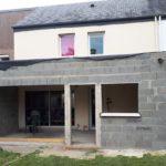 Les travaux d'extension de maison