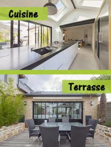 Extension de maison architecte