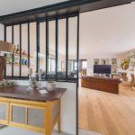 Séparation salon et salle à manger