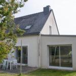 Une extension de maison près de Rennes