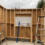 Travaux d'agrandissement en ossature bois