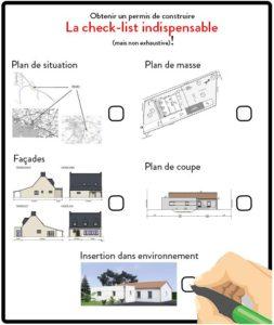 Check-list permis de construire