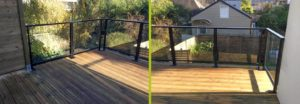 Terrasse en bois près de Rennes