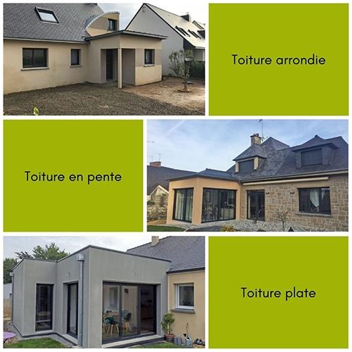 Typologies de toiture