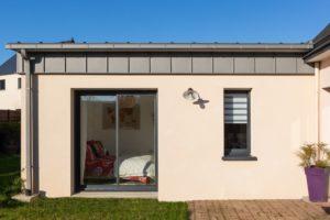 Une chambre parentale dans le secteur Rennes Ouest