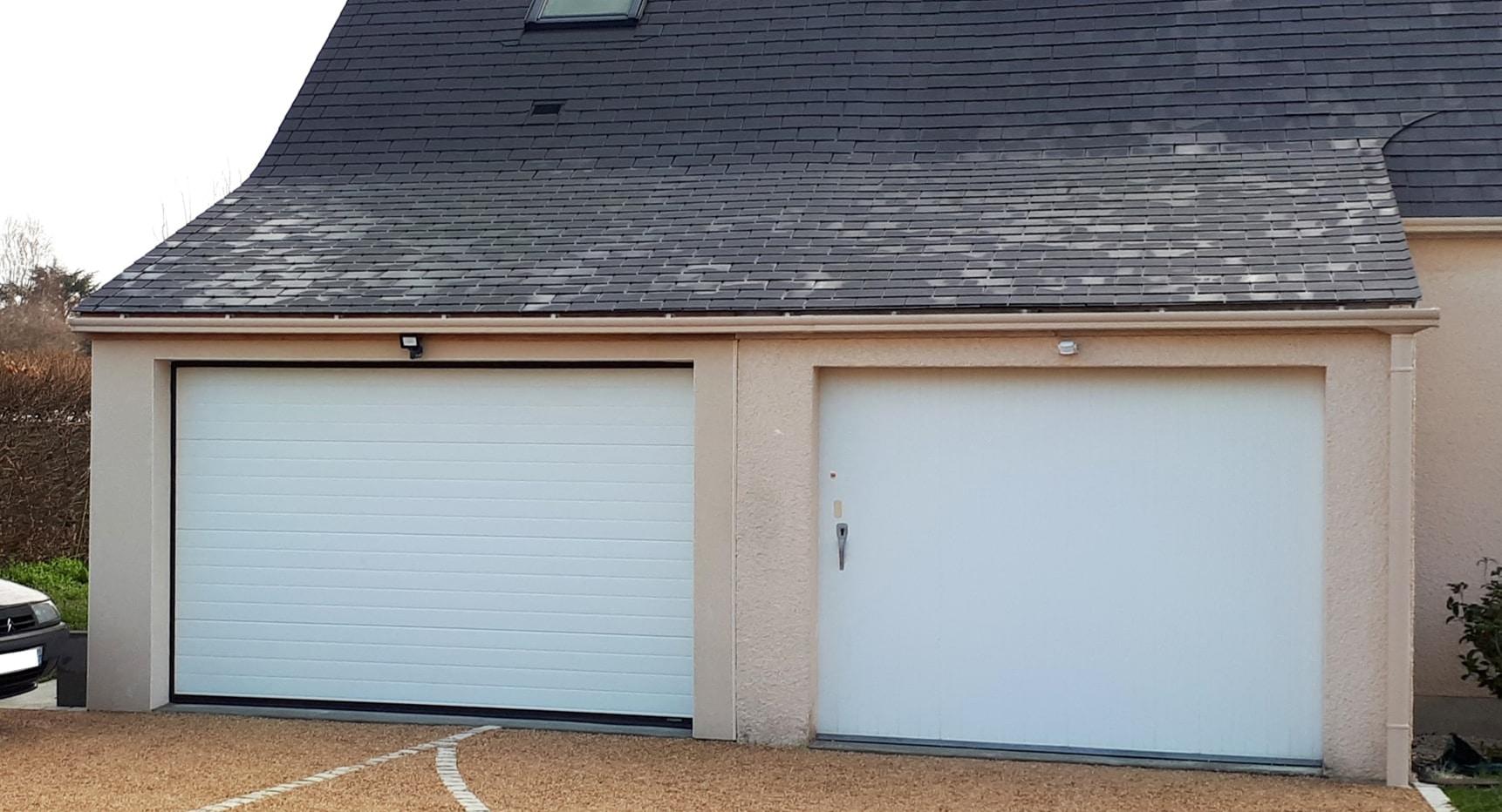 Un garage attenant à Corné
