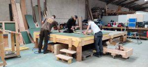 Atelier montage ossature bois