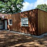 Une extension en ossature bois à Linards