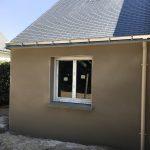 Construction du garage-atelier