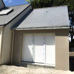 La construction du garage-atelier à La Baule (44500)