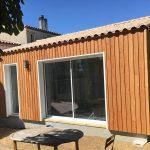 Une extension à ossature bois