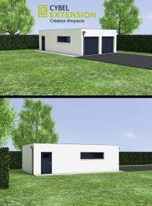 Un garage double indépendant : les prix