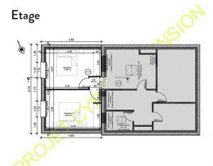 Plan d'extension à l'étage