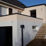 Un agrandissement de garage et de cuisine à Mondevert