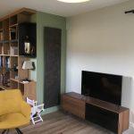Un salon cosy dans l'extension de maison