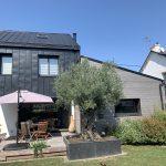 Une extension de maison sur le pignon à Vannes (56000)