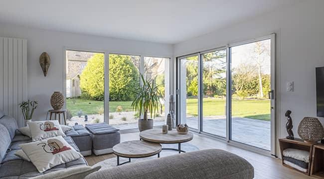 Une extension de style veranda