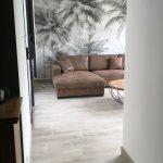 L'ouverture pour accéder à l'extension de salon