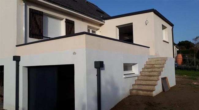 Un toit-terrasse